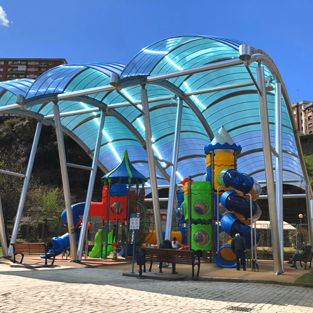 playground in the basque country a great place for kids