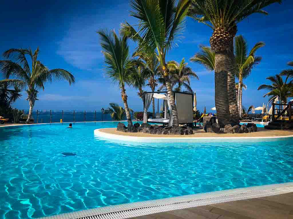 view of hotel pool in tenerife