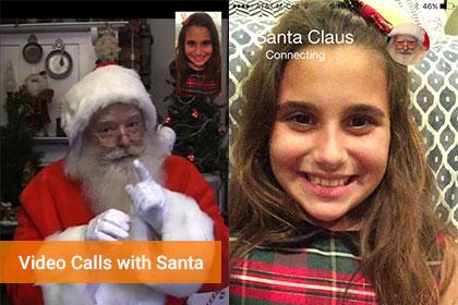 Talk To Santa Online Video Calls With Santa