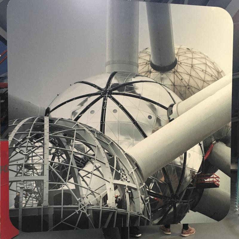 construction_of_atomium