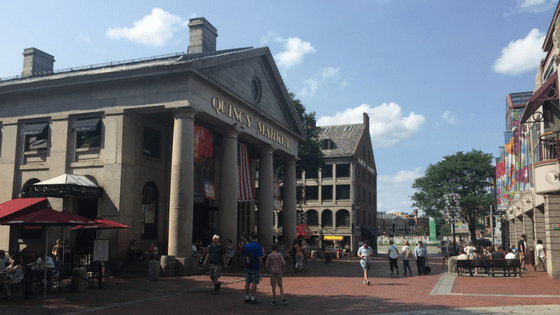Freedom Trail Faneuil Hall