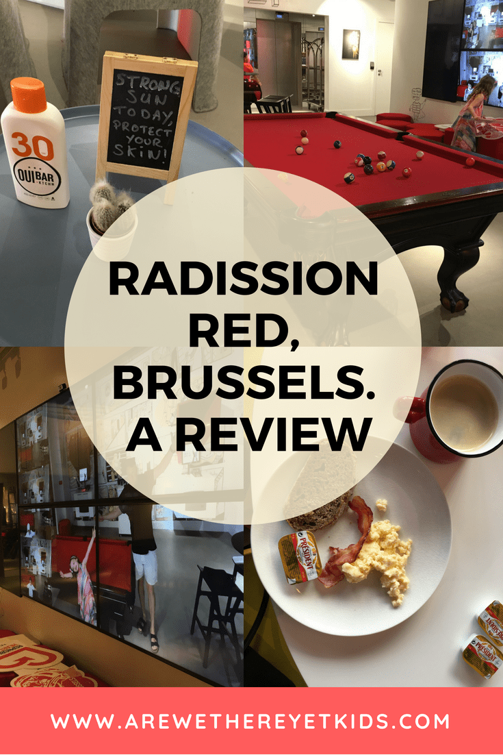 Radisson Red Brussels Pin