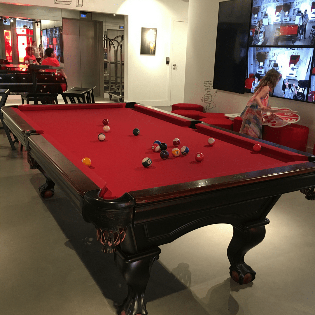 radisson_red_brussels_pool_table