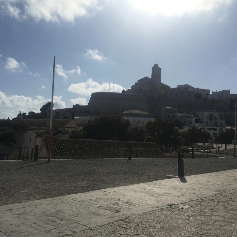 Ibiza Old Town View