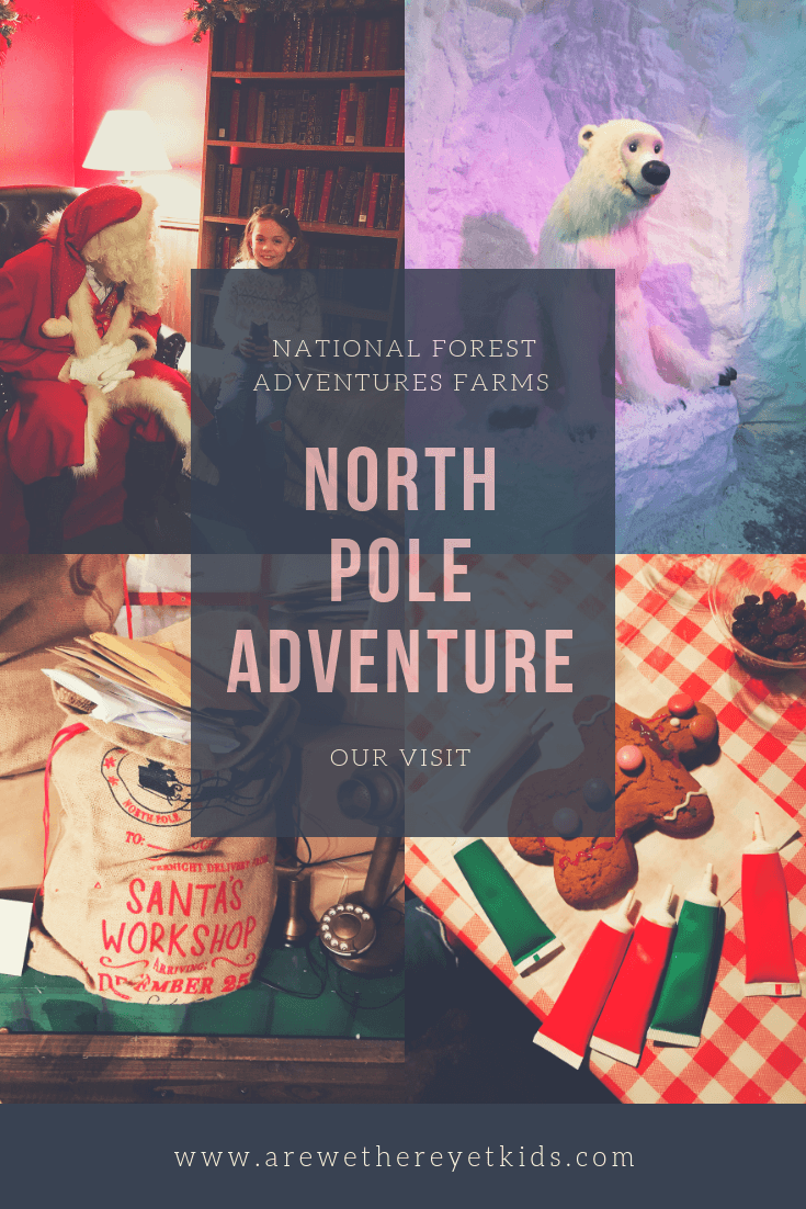 North Pole Adventure At The National Adventure Farm In Burton On Trent