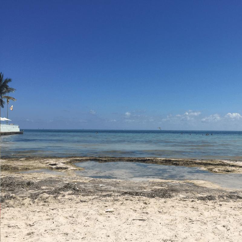 fort zachary beach in key west