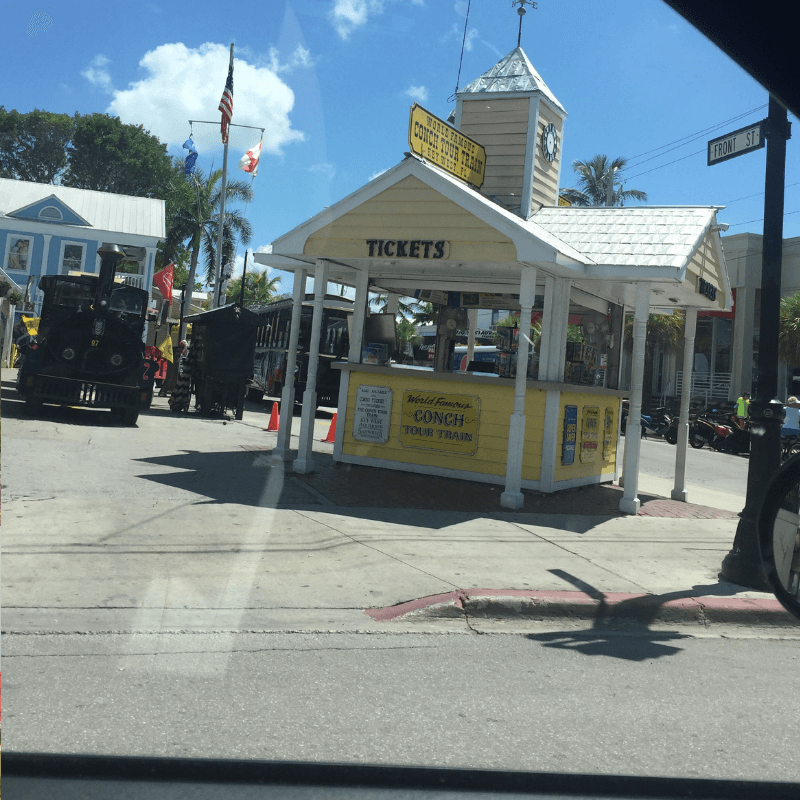 key west conch tour ticket station