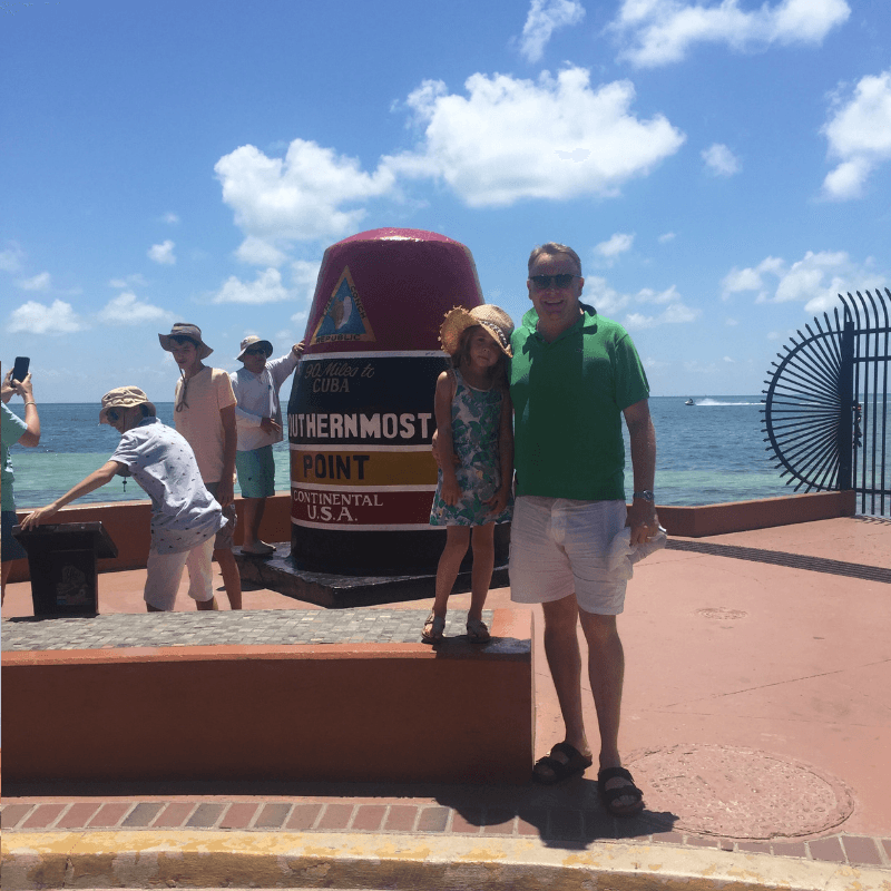 southernmost point in key west with kids