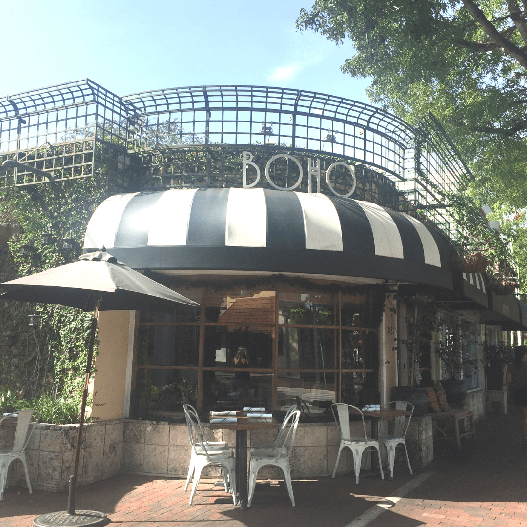 lovely places for brunch in coconut grove miami