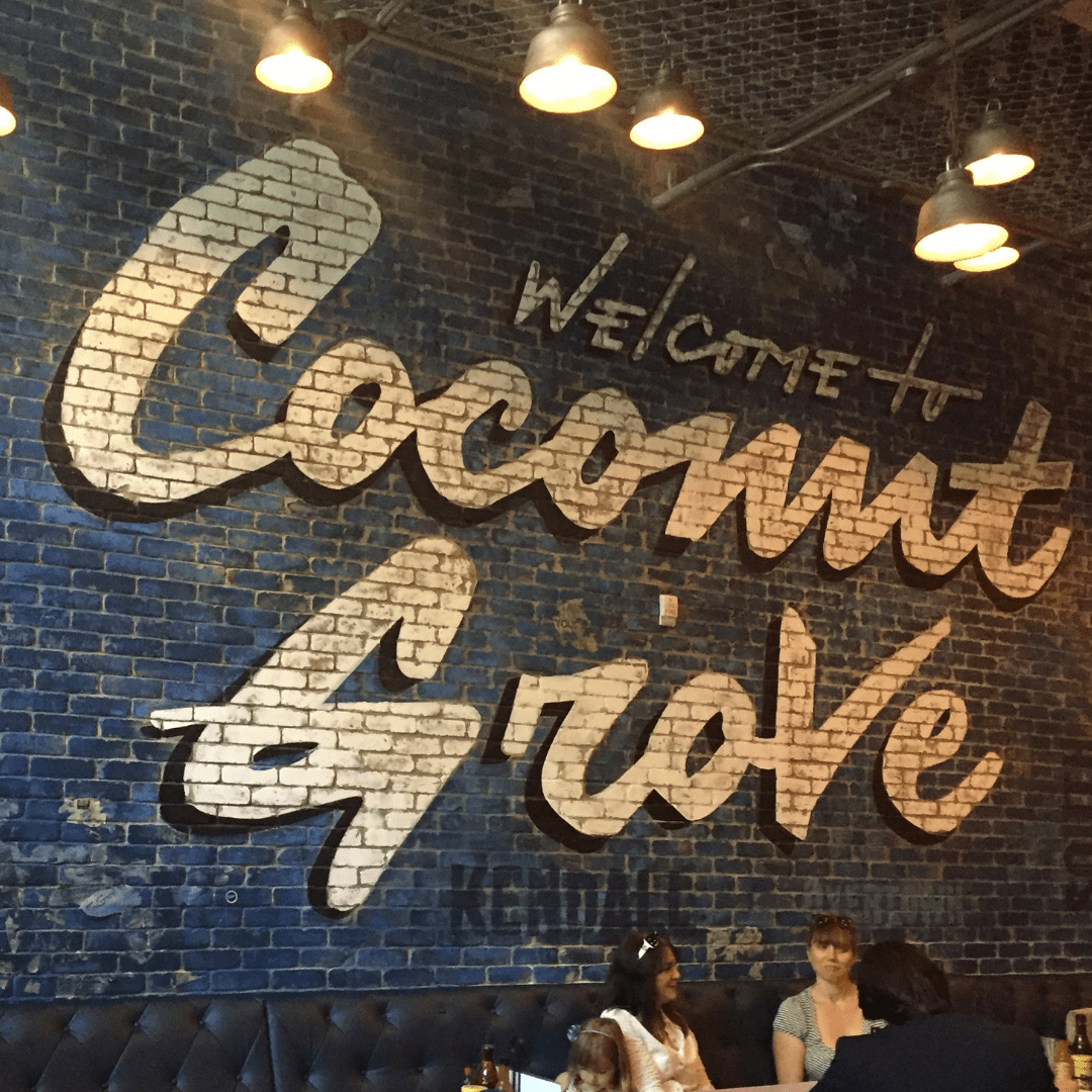 Coconut Grove the best place to stay in Miami with family