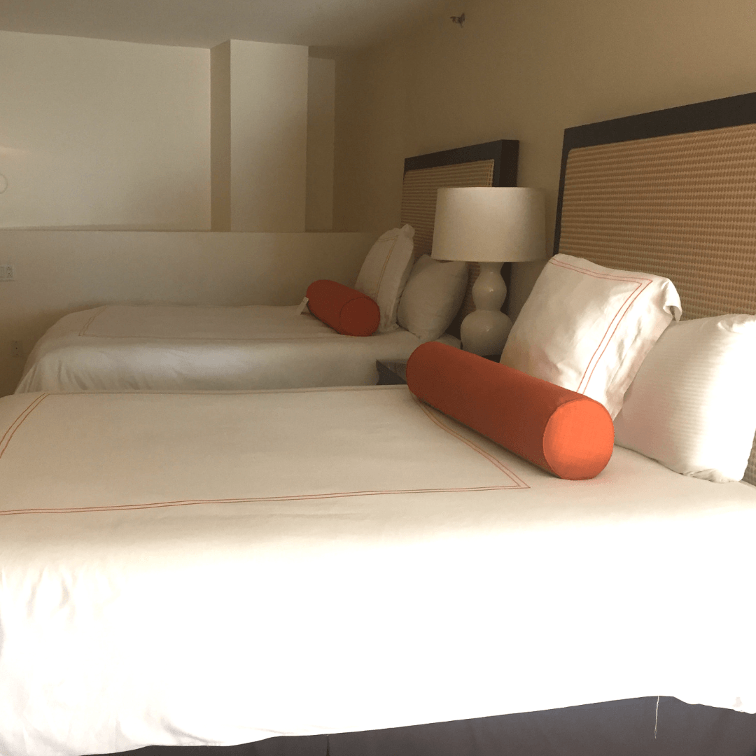 bedroom at the mayfair hotel coconut grove