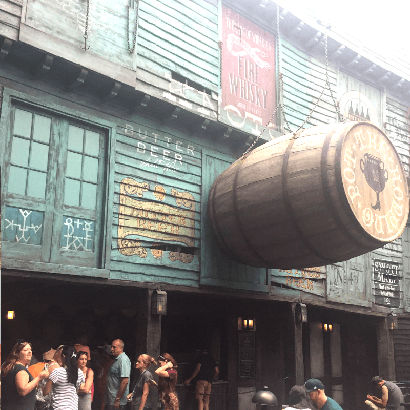 where to buy butter beer at the wizarding world of Harry Potter in Universal studios