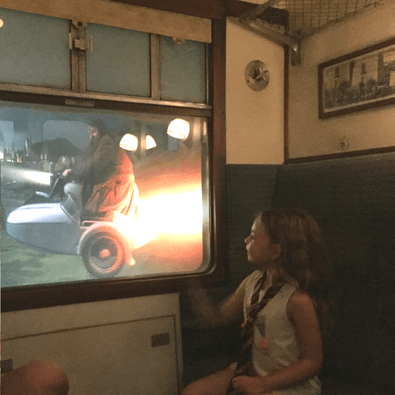 hogwarts express ride at the wizarding world of harry potter