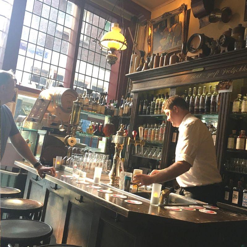 pub off the beaten track in amsterdam