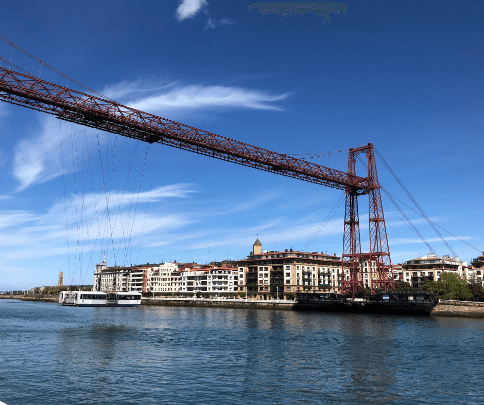 the best thing to do in the basque country, the vizcaya bridge