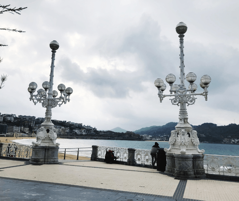 donostia san sebastian is a lovely place to visit in the basque country with kids