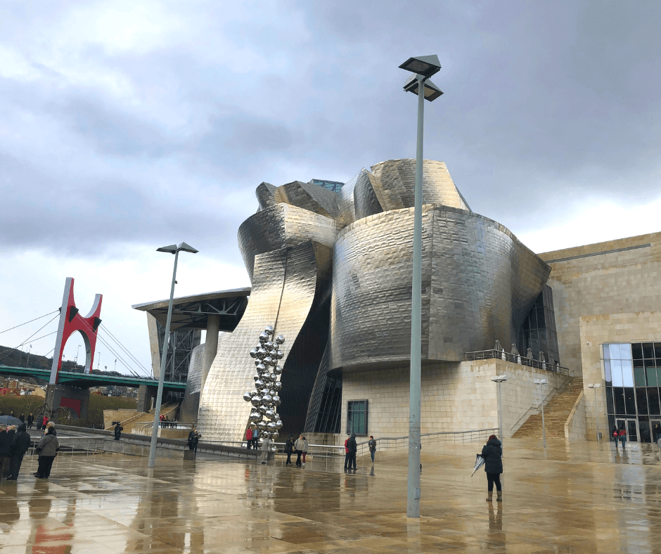 ath artistic city of bilbao in the basque country