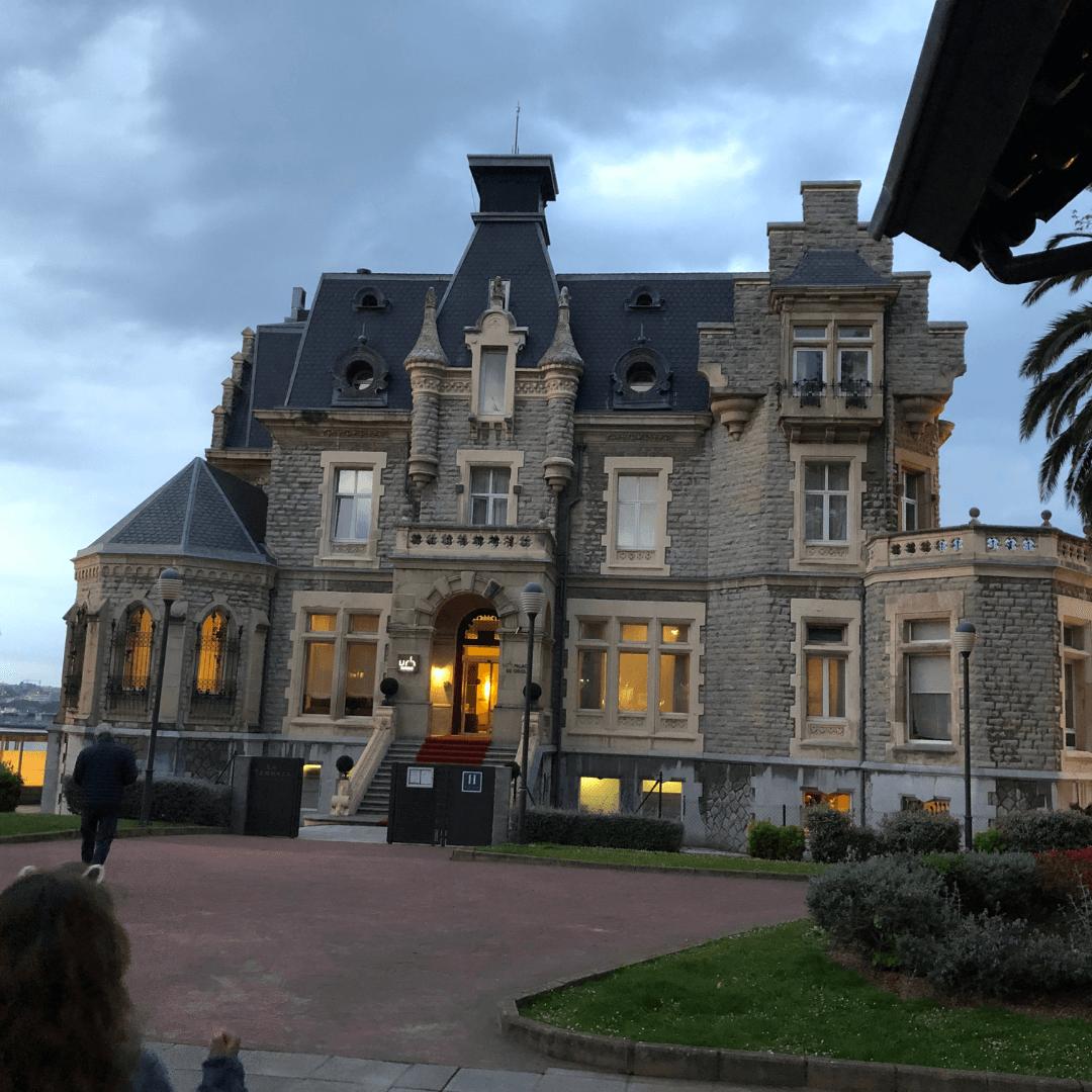 the URH palacio de oriel a fantastic hotel in the basque country