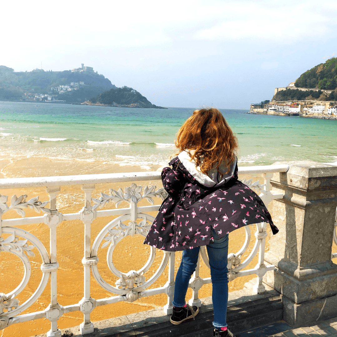 donostia san sebastian is a great place to visit when in the basque country with kids