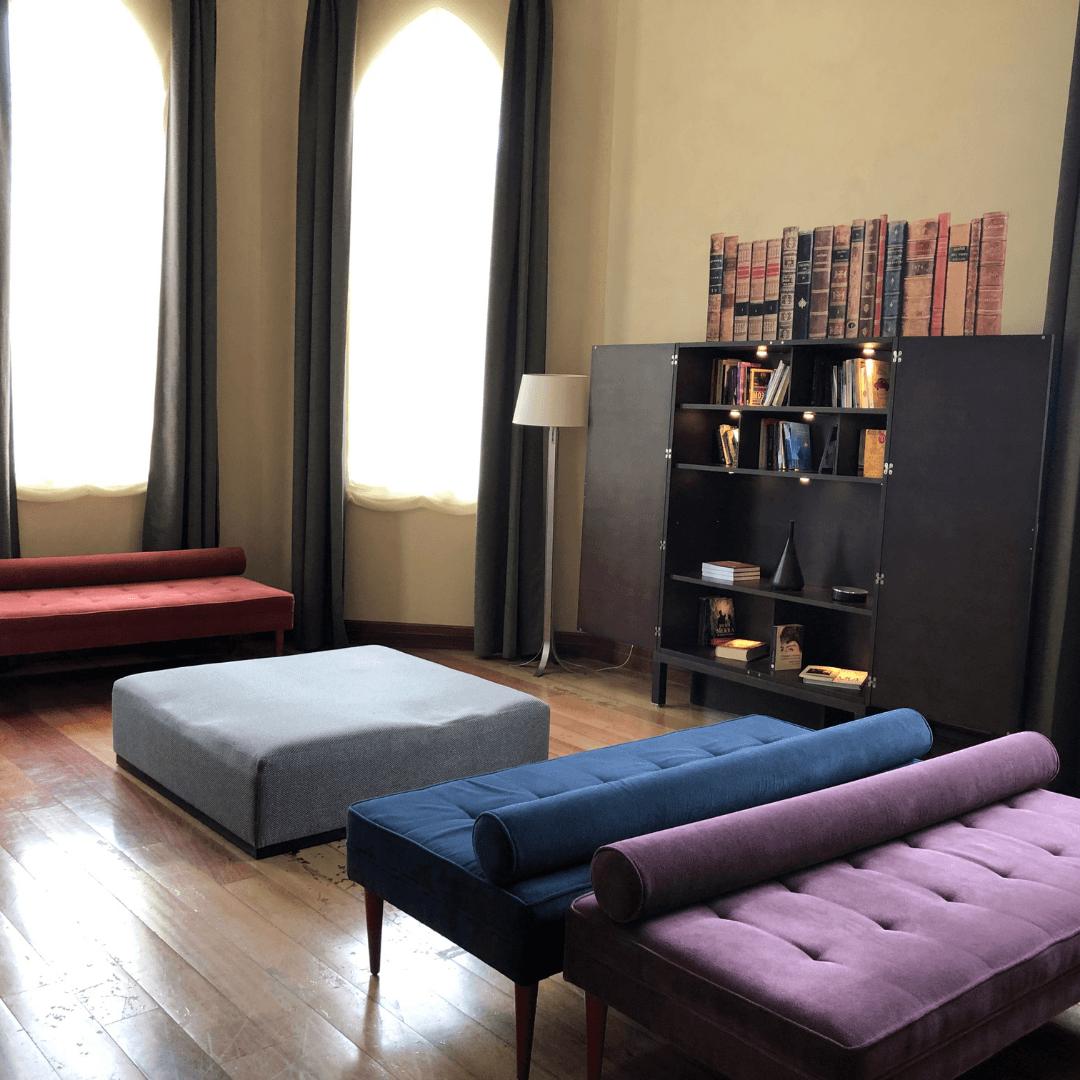 design features at the URH palacio de Oriel hotel near bilbao