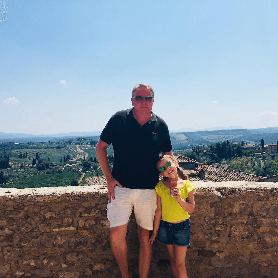 beautiful views from san gimignano