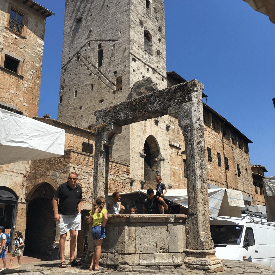 unesco world heritage site in italy san gimignano