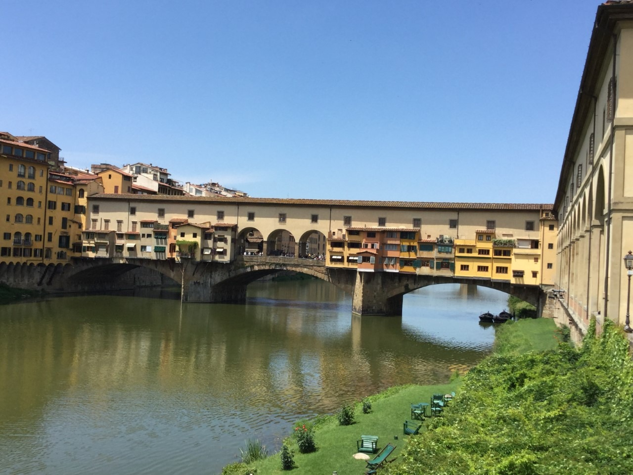 one week in tuscany the ponte vecchio in florence