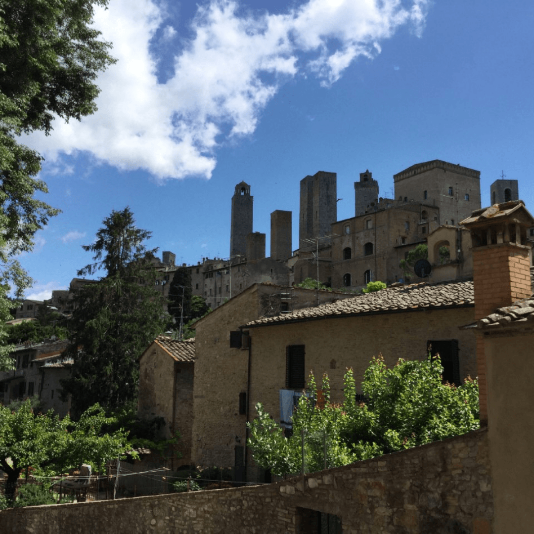 tuscany for a week san gimignano towers
