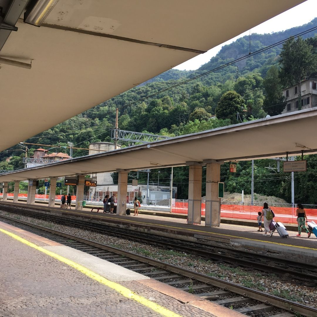 the train station at Como, where you