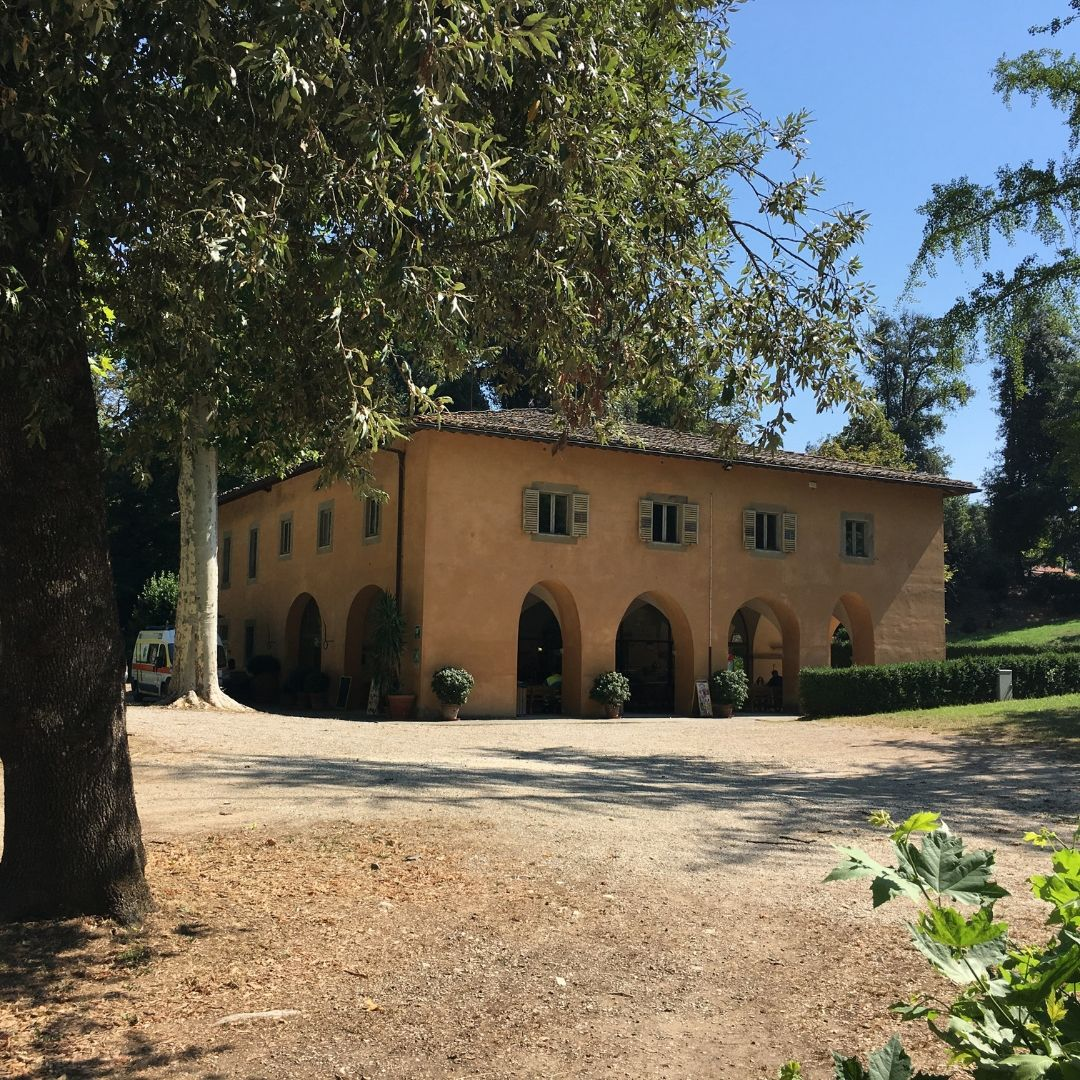 small restaurant in pratolino park in tuscany a perfect day out for kids