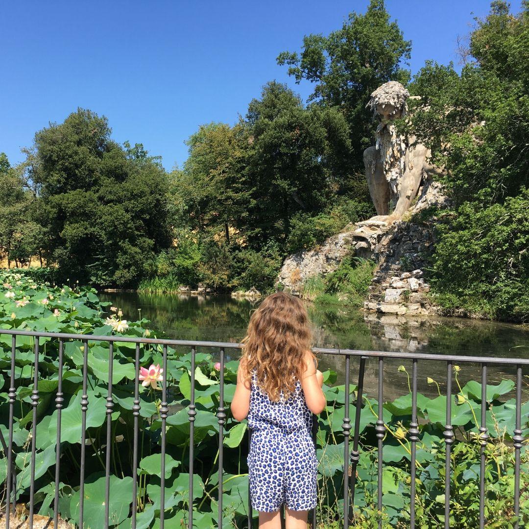 pratolino park in tuscany