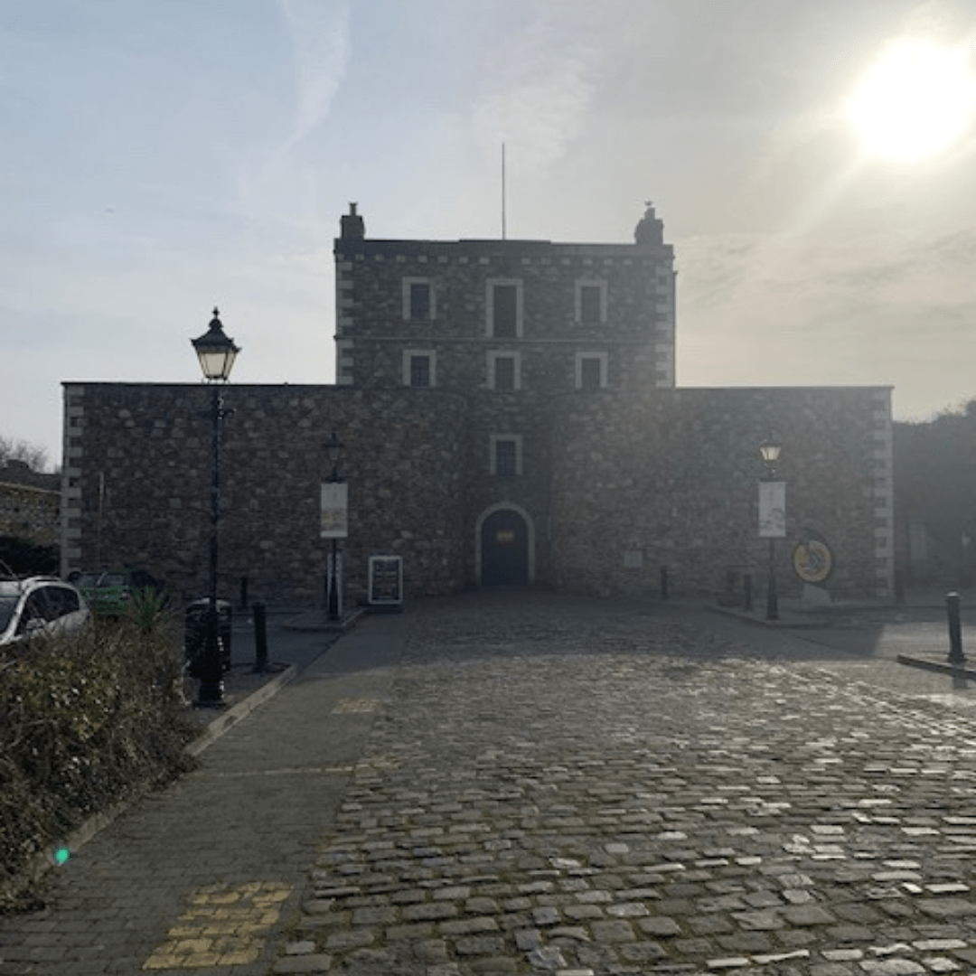 wicklow with kids visit the gaol