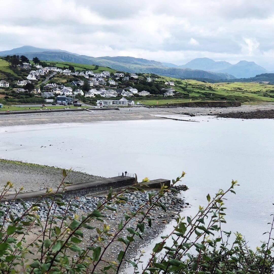 sea view from circcieth, Llyn Peninsula