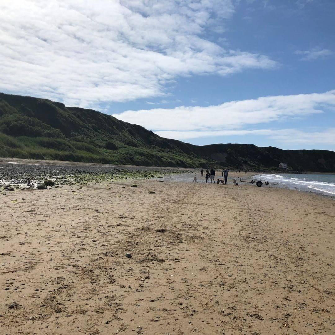 beautiful beach on the llyn peninsulain North Wales