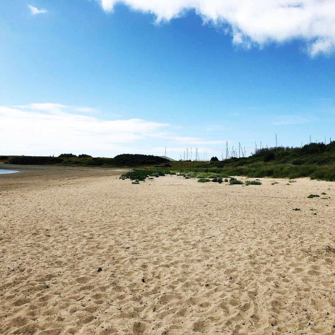 Pwllheli Beach On The Llyn Peninsula