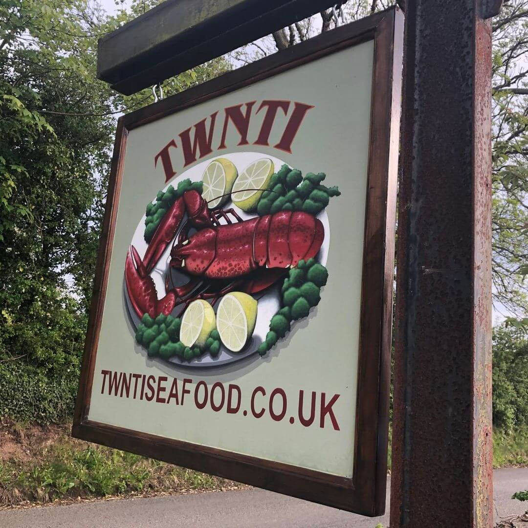 Twnti Seafood Restaurant In North Wales