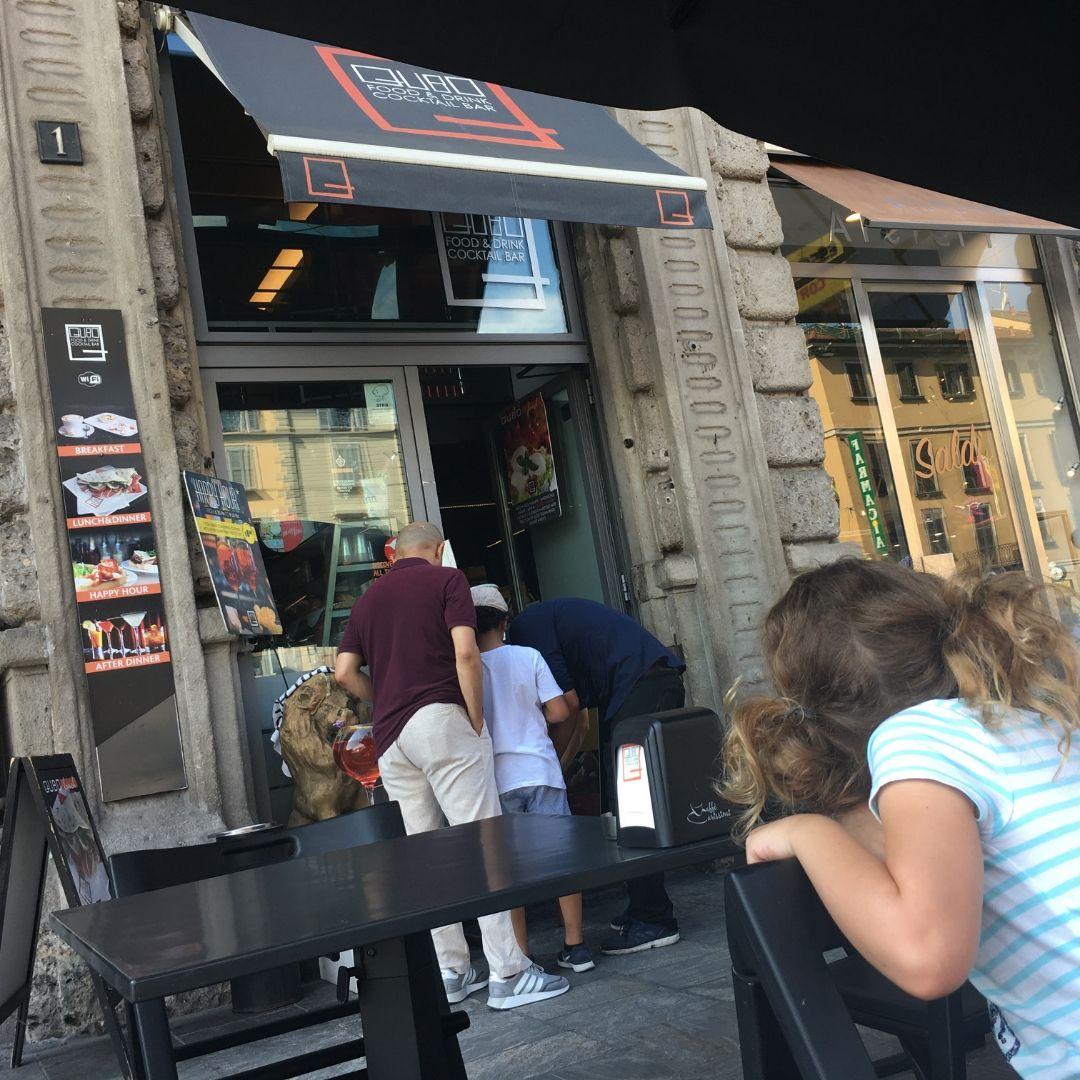 worst restaurant in Milan