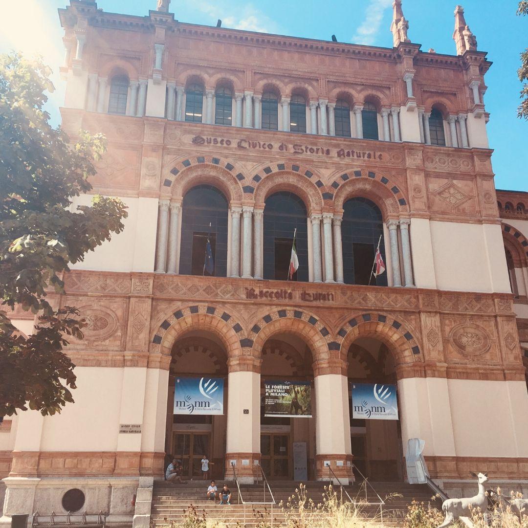 natural history museum milan