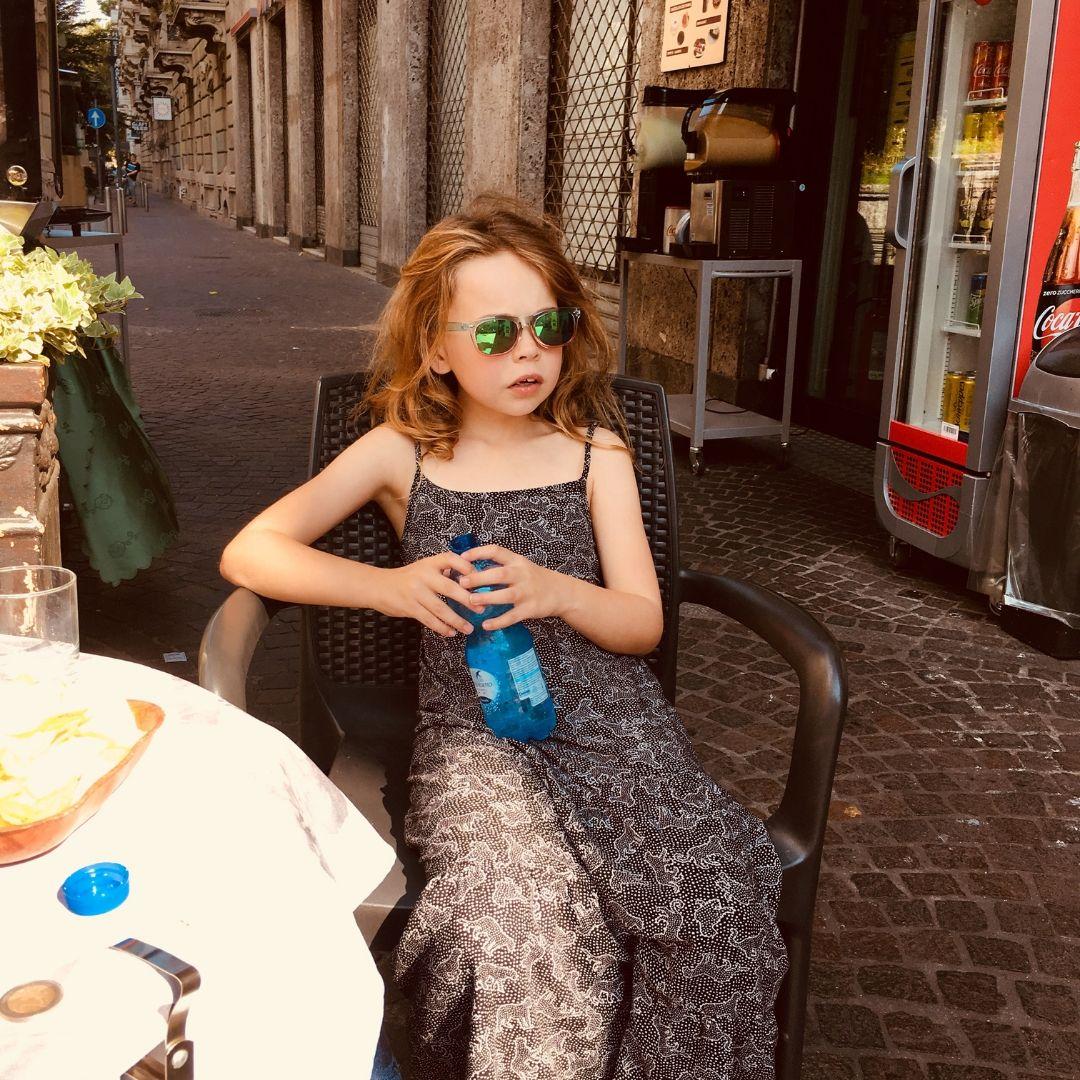 pipper quinn looking very hot in summer in milan