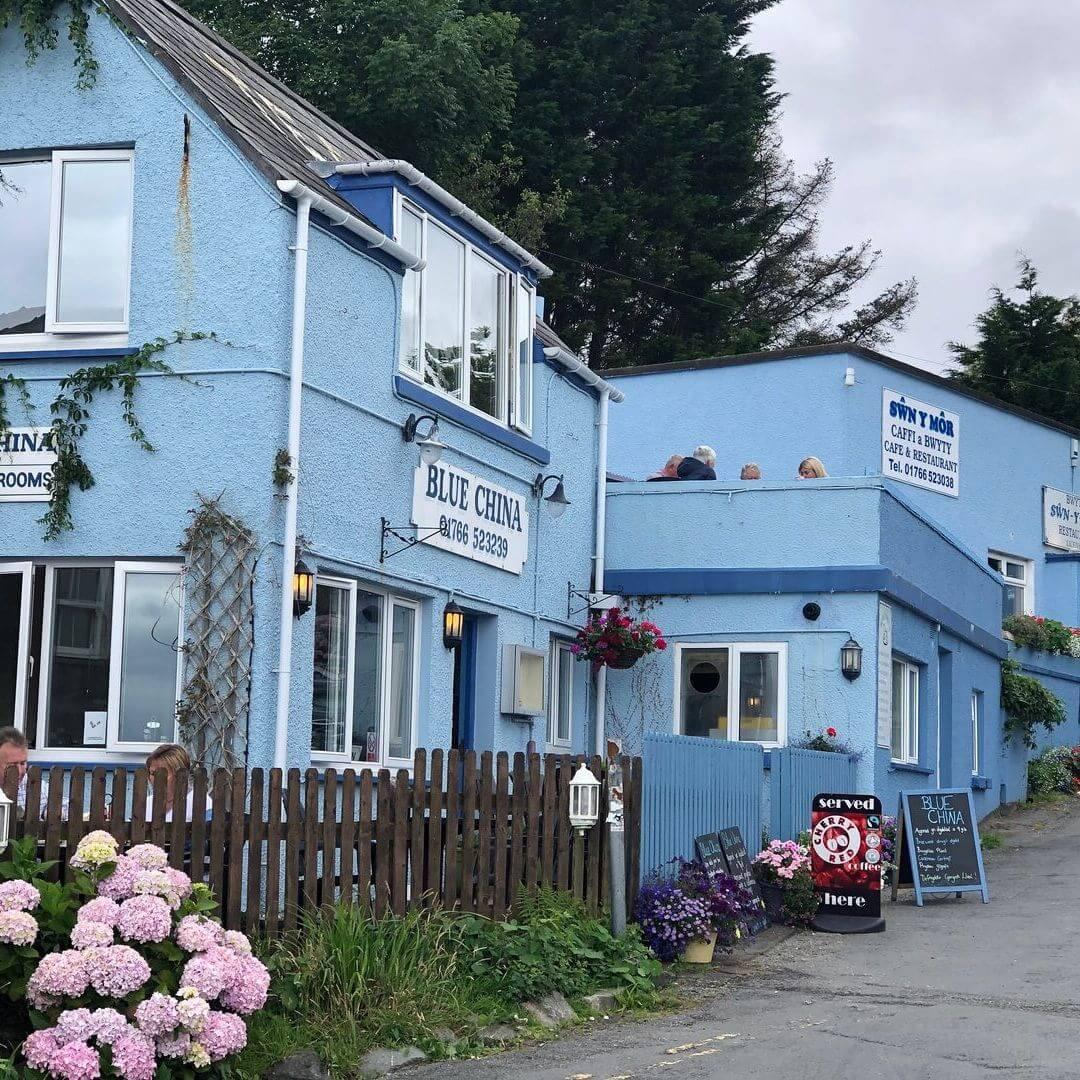 Blue China Tea Rooms In Criccieth