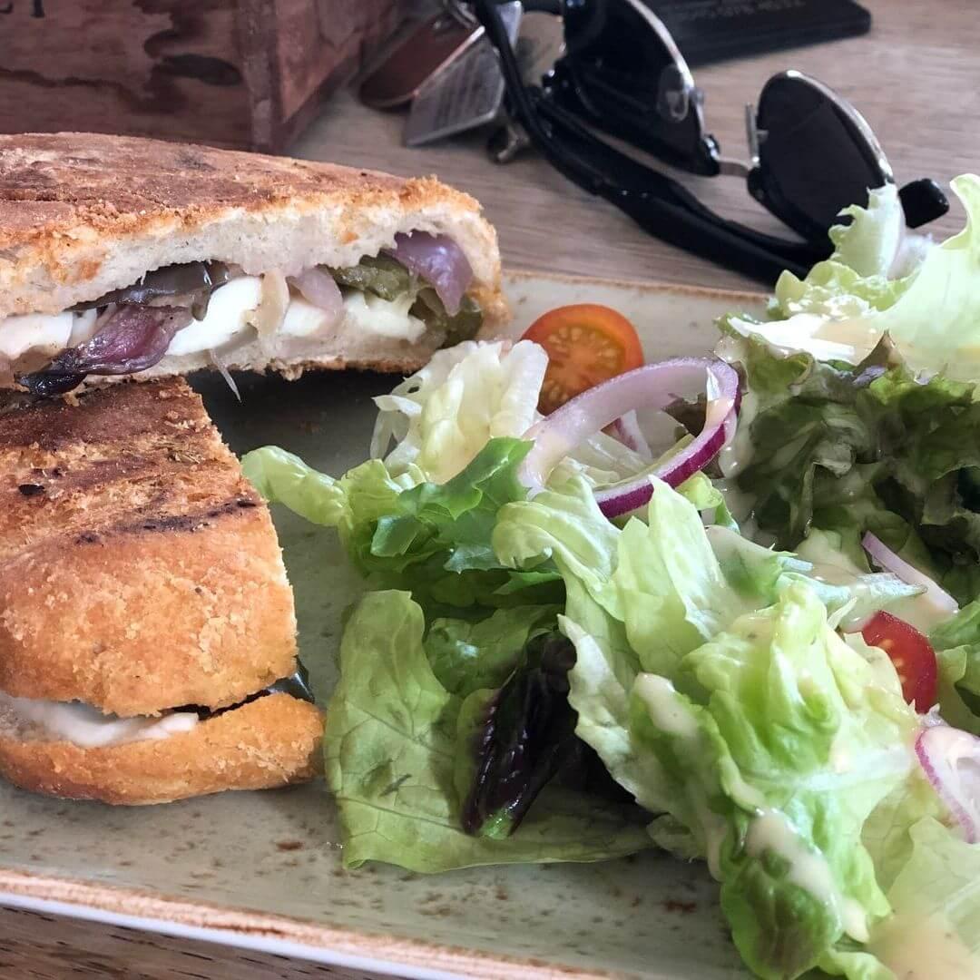 Halloumi Burger From Zinc Restaurant