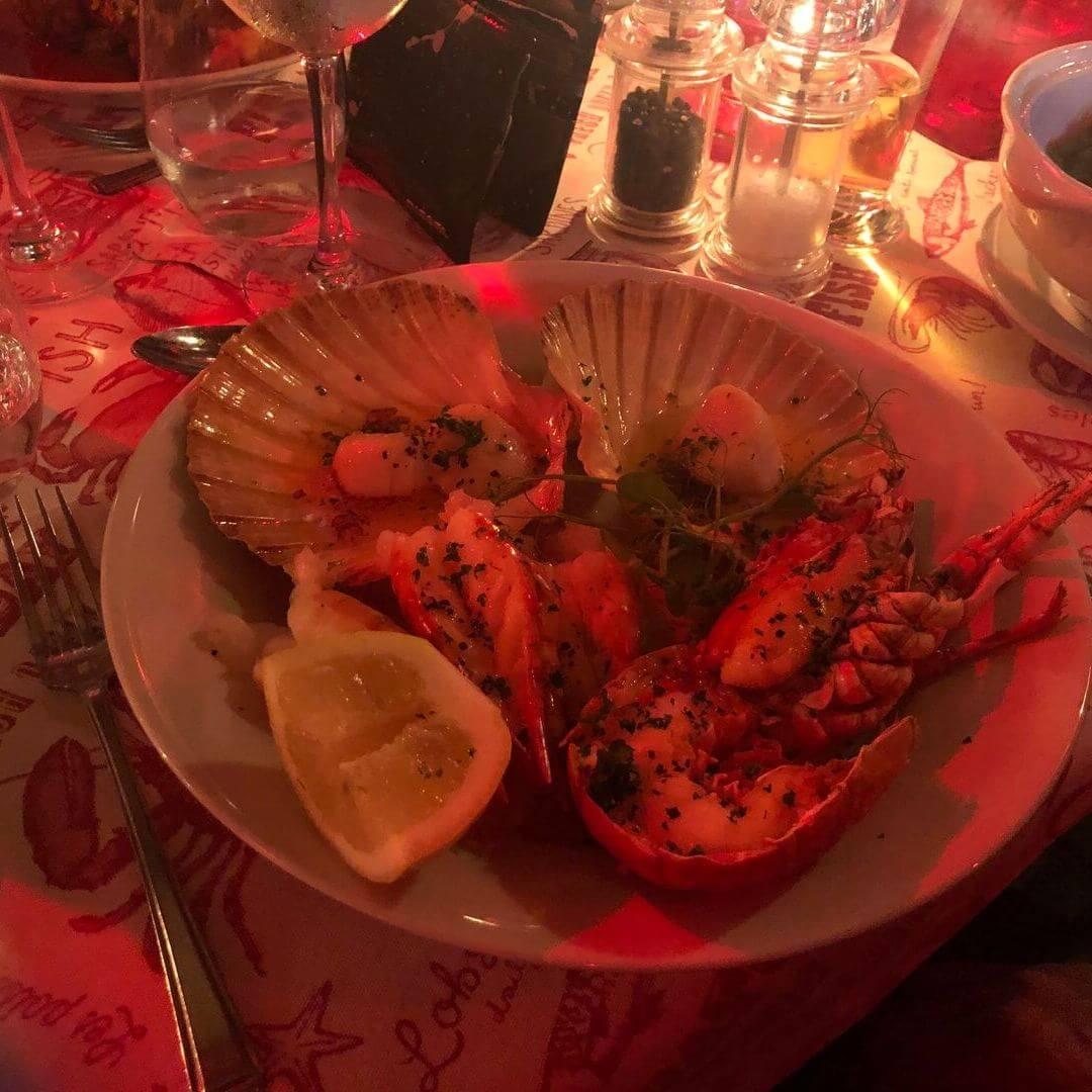 Fresh Shellfish From Twnti Seafood Restaurant