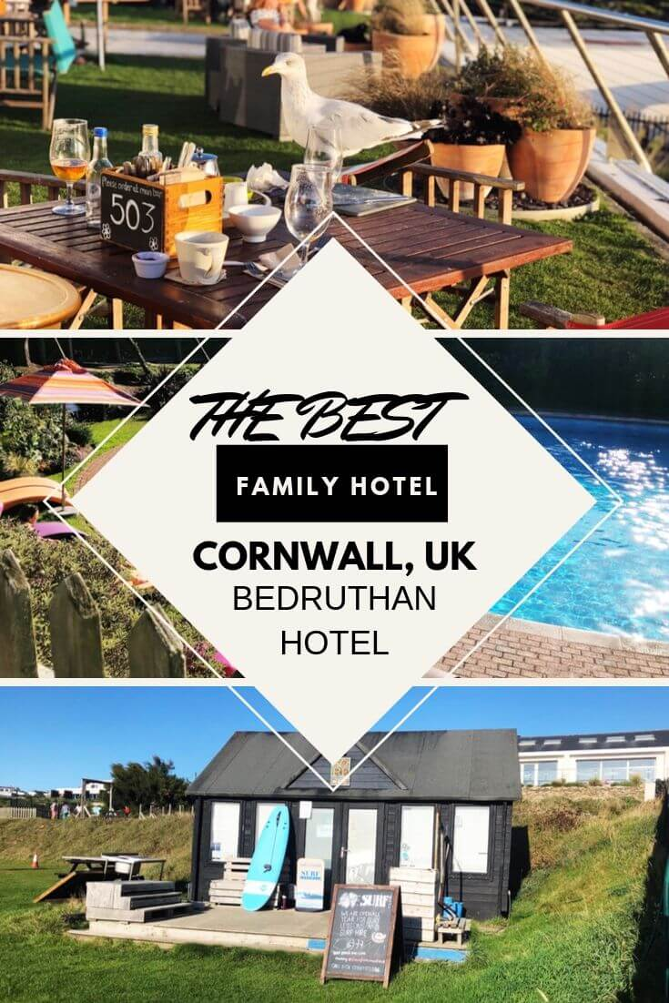 best hotel in cornwall to stay with kids