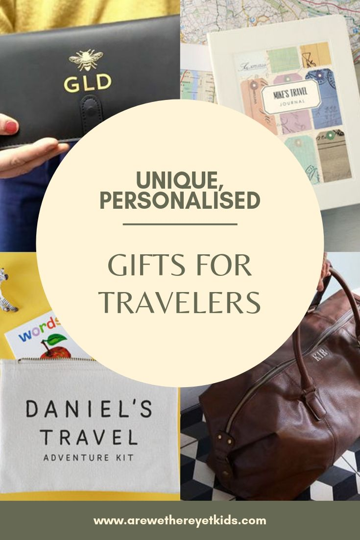 unique personalised gifts for travelers whatever age