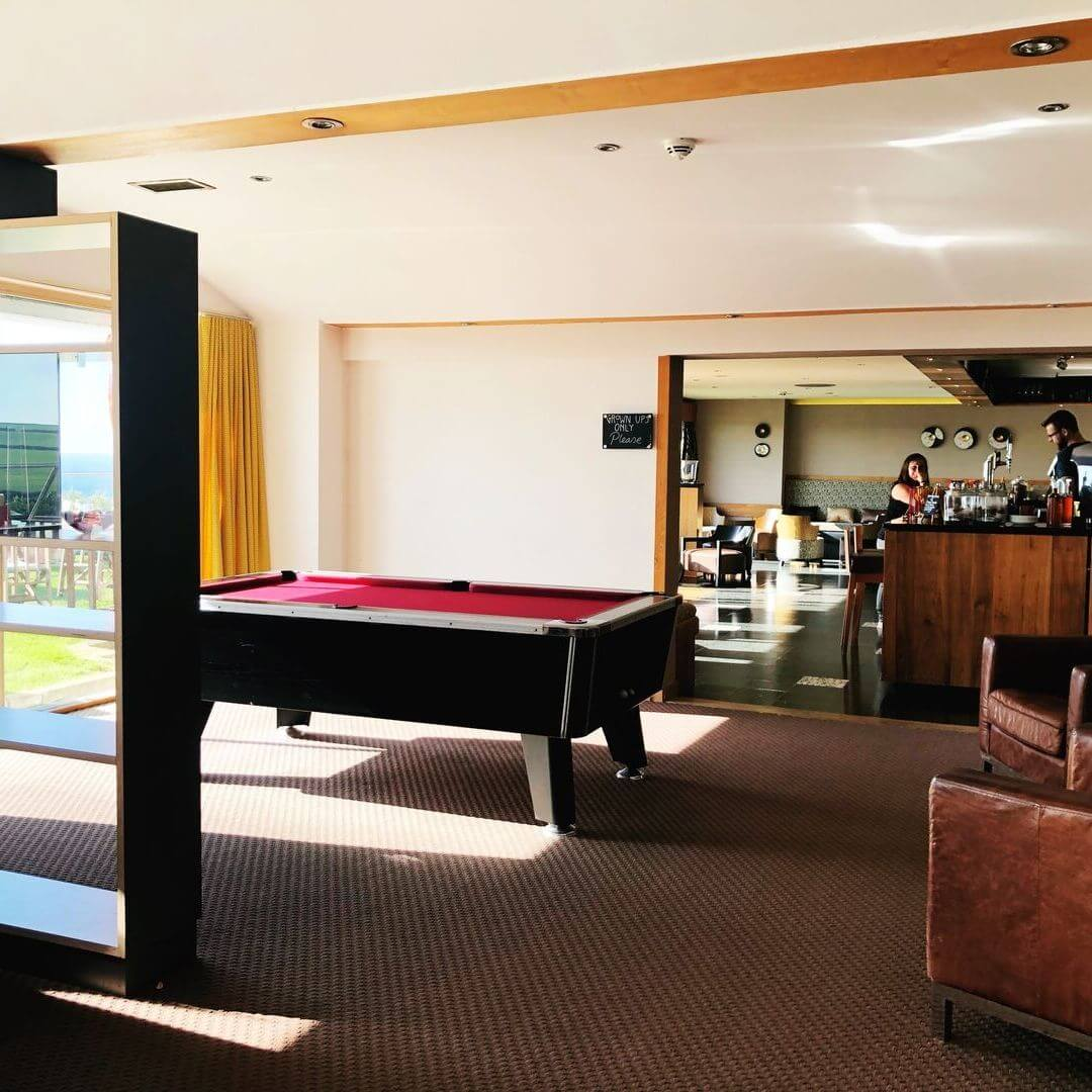 Pool Table At The Bedruthan Hotel And Spa