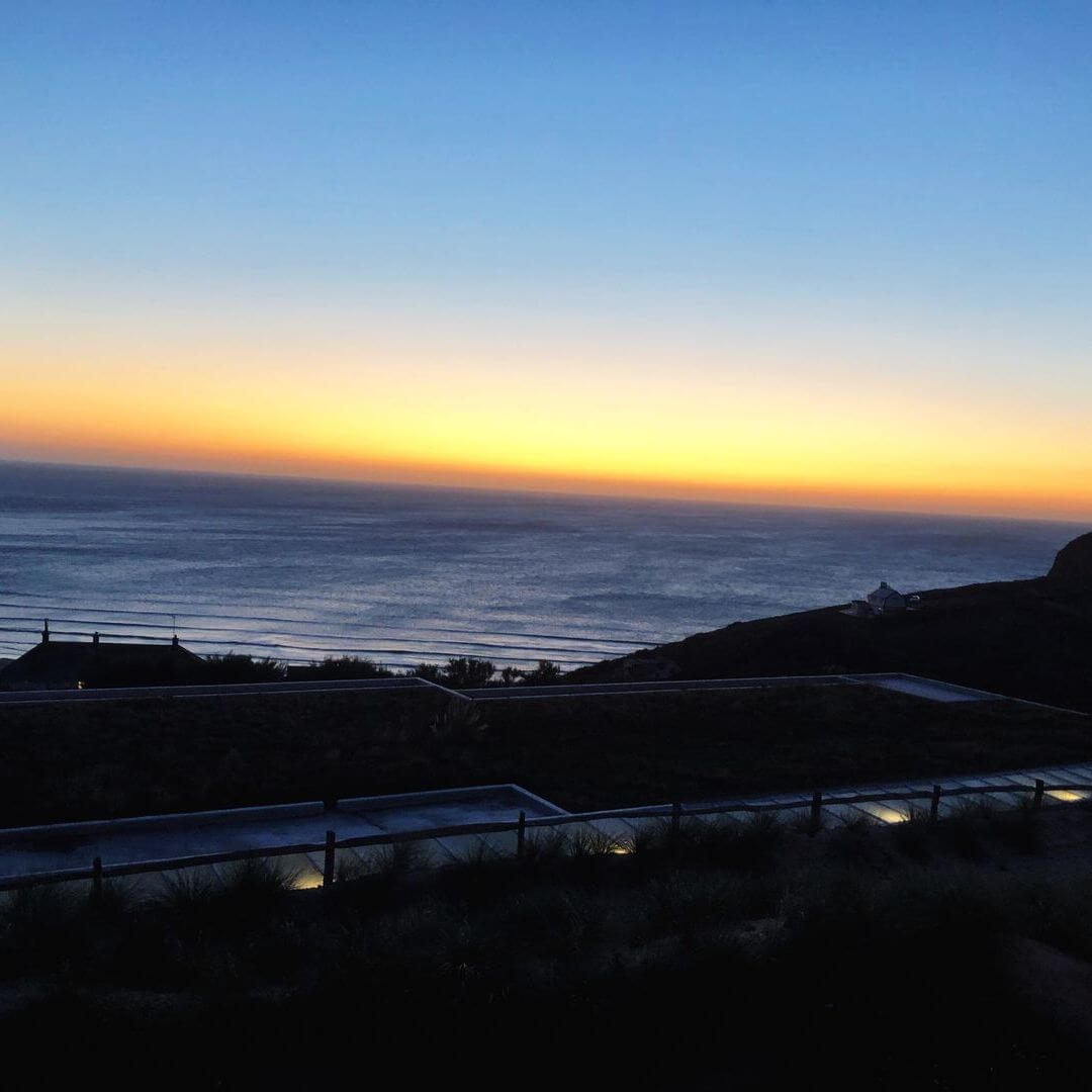 Sunset From The Bedruthan Hotel