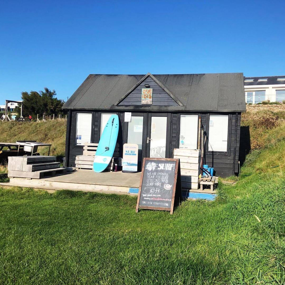 Surf Shack At Bedruthan Hotel