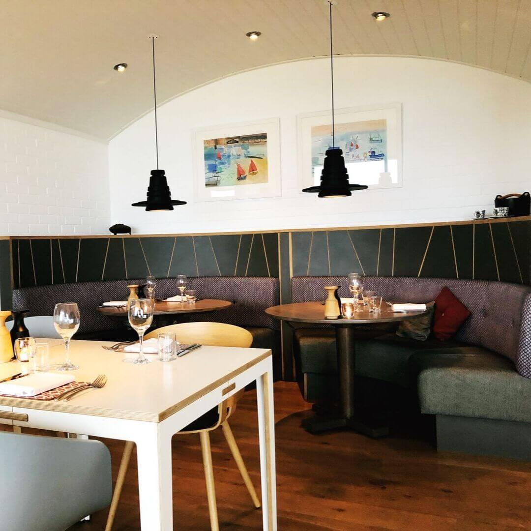Design Of The Herring Restaurant In North Cornwall