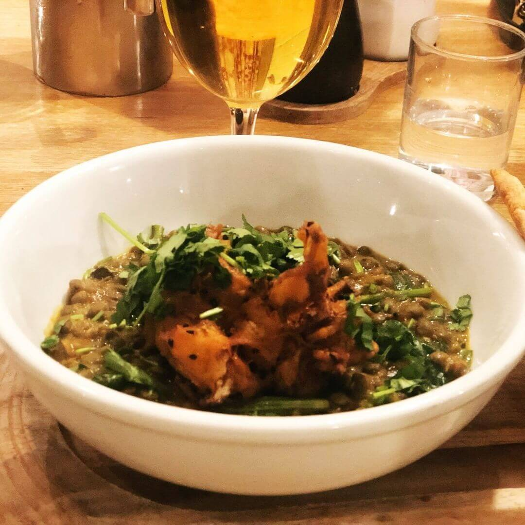 Lentil Curry From Wild Cafe At Bedruthan Hotel