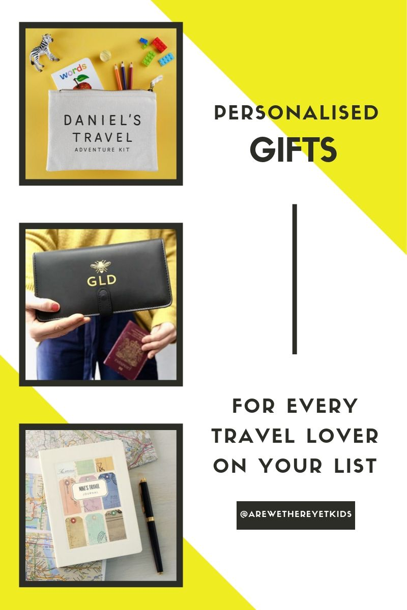 Personalised Gifts For Every Travel Lover On Your List